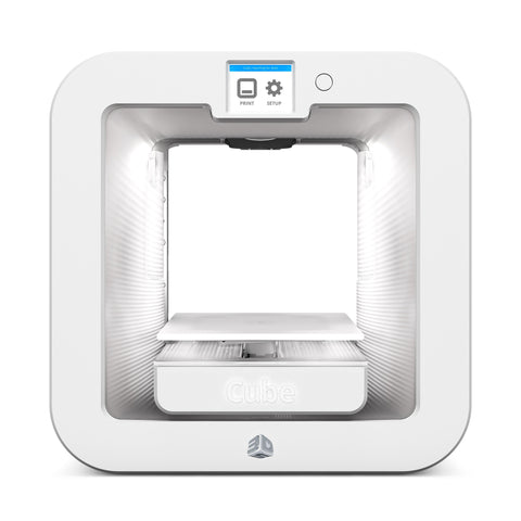 3D Systems Cube Classroom Pack (Cube 3D Printer - White, Sense 3D Scanner, 10 Cube Cartridges, 9-Month Extended Warranty for Cube, Cubify Sculpt-25 seat license)<br /><br /><small>(Part #: 391580)</small>
