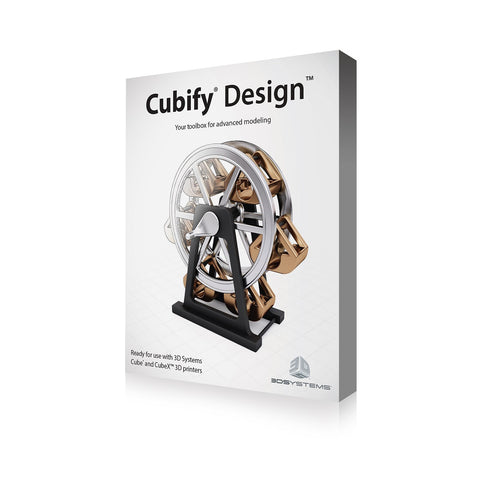 3D Systems Cubify Design Software (Windows)<br /><br /><small>(Part #: 391270)</small>