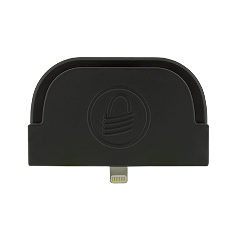 iDynamo Mag Stripe Reader~Drawer Front Style: N/A; Interface Type: Lightning; Color: Black; Size (W x D x H): N/A; Options: N/A; Compatible Devices: iPad, iPhone or iPod Touch with Lightning Port; EMV Chip Reader: No