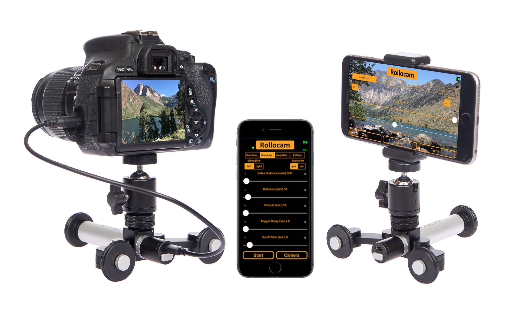 Rollocam Intelligent Portable Tripod