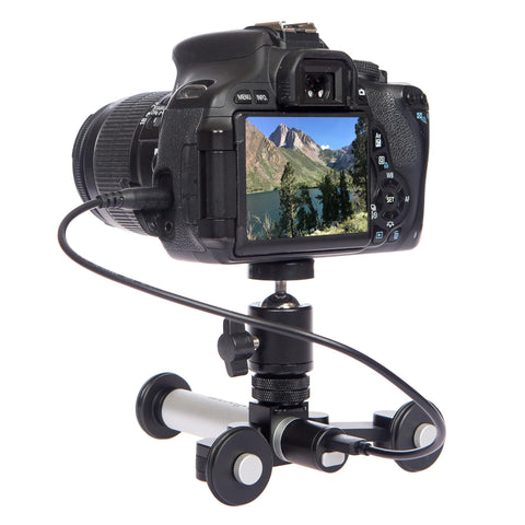300-1 Rollocam H-2 Portable, Intelligent Motorized Desktop Dolly Tripod System With Free Software