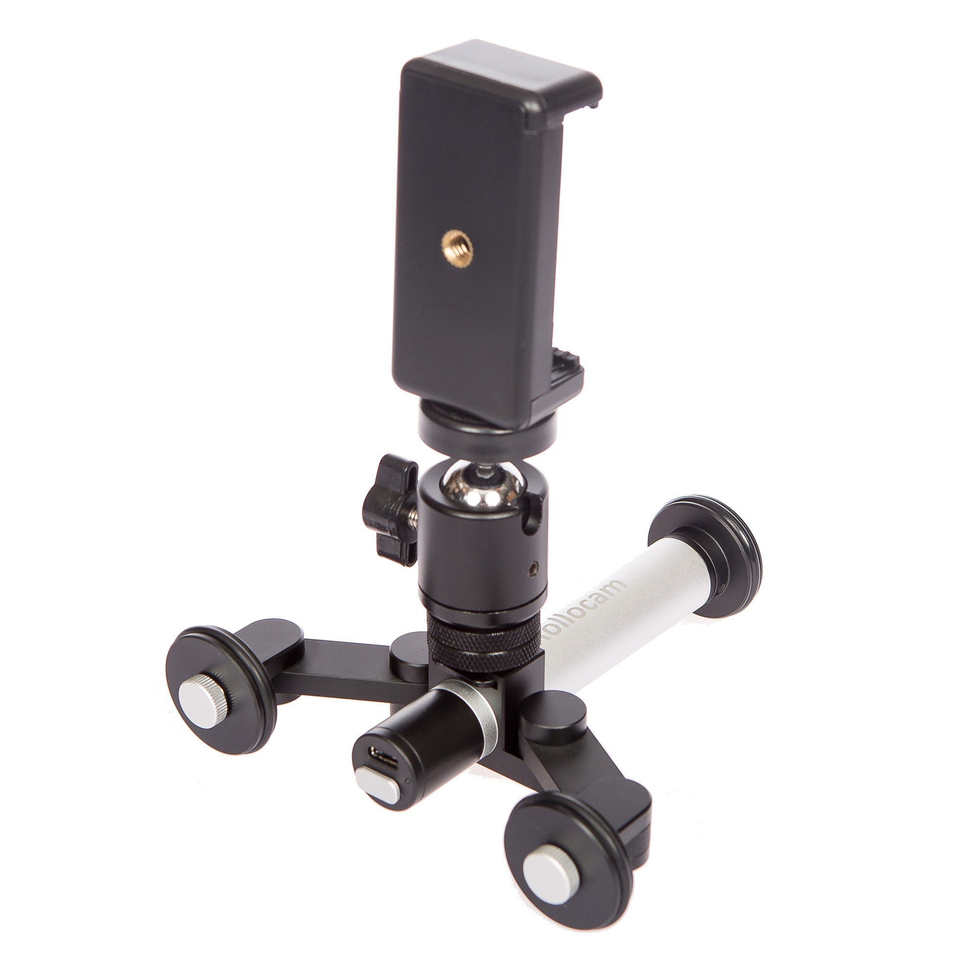 300-1    Rollocam H-2 Portable, Intelligent Motorized Desktop Dolly / Tripod System