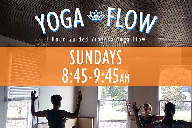 Sunday Morning Yoga - New Start Time!