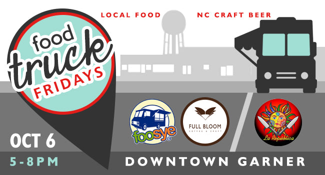 Premiere Food Truck Friday in Downtown Garner