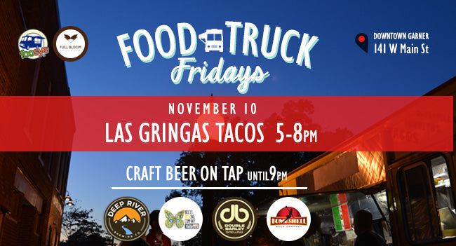 Food Truck Friday Encore with Las Gringas Tacos!