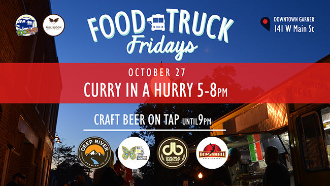 No need to worry...Curry in a Hurry Food Truck will be here!