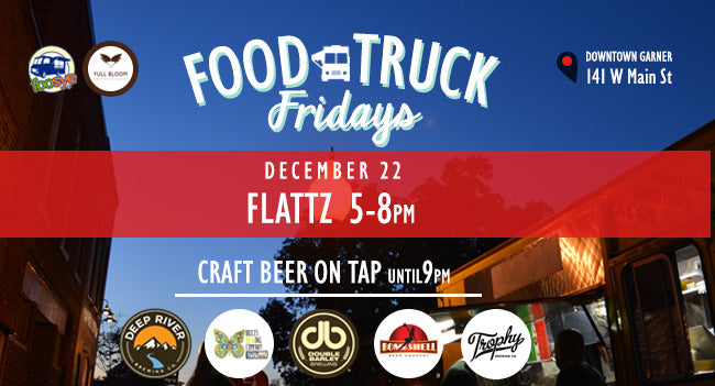 Food Truck Friday with Flattz!