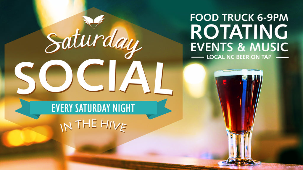 April Saturday Social Line Up