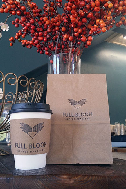 Full Bloom Coffee & Craft cafe - for here or to go