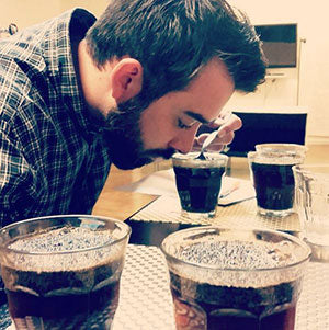 Full Bloom Coffee Roasters Cupping Coffee