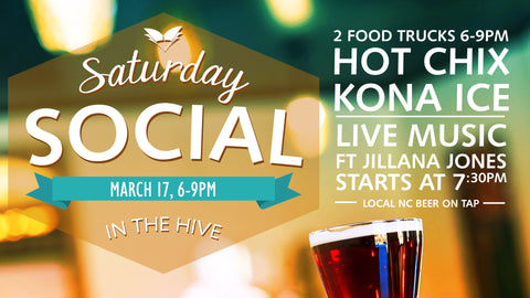 Saturday Social - March 17