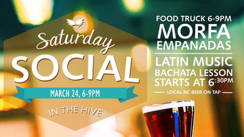 Saturday Social - March 24