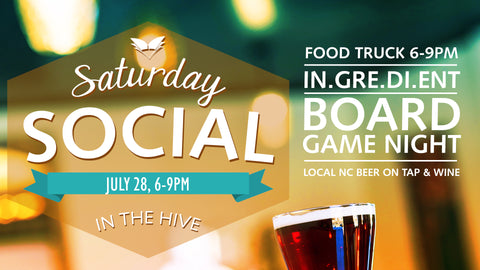 Saturday Social July 28