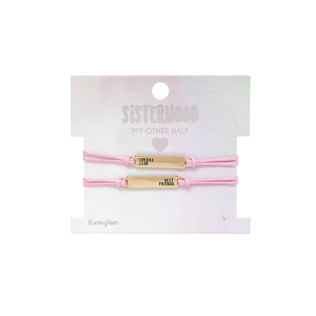 Sisterhood BFF Bracelets - Set of 2 - Funky Fish Trinidad