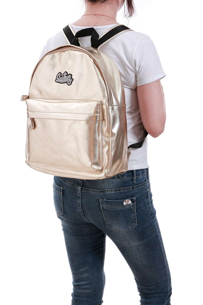 Smiling Gold Backpack - Funky Fish Trinidad