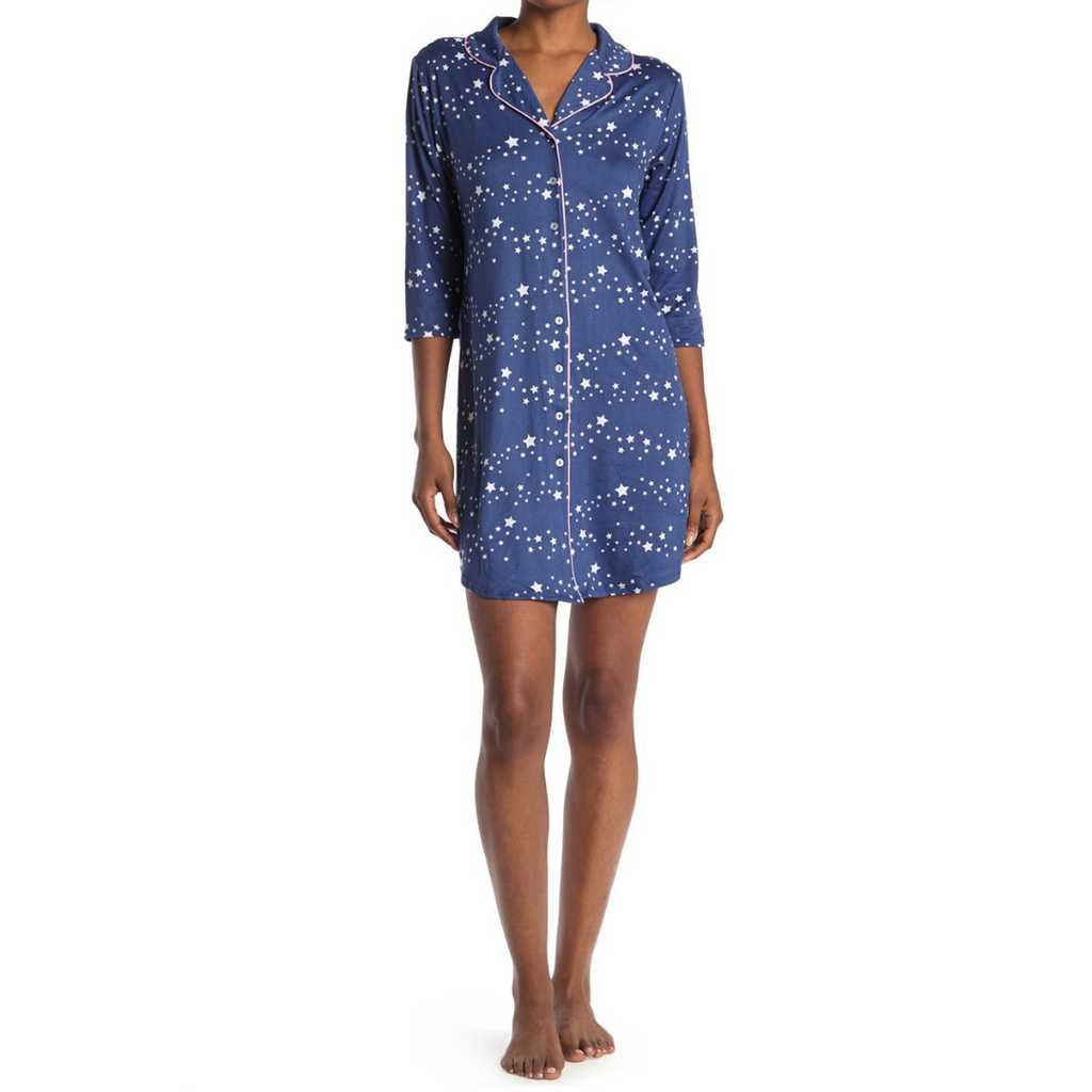 Star Night Sleep Dress Pajamas