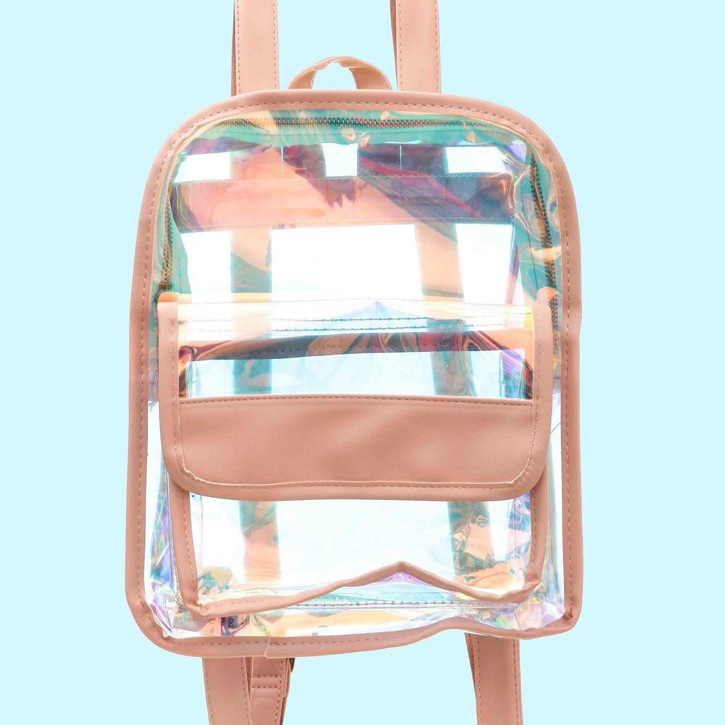 Mini Holographic Backpack - Funky Fish Trinidad