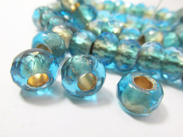 Large Hole Roller Beads