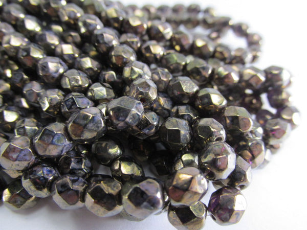 Cobalt Blue 14mm x 10mm Faceted Crystal Teardrops (6)-Jewelry Beads-Odyssey Cache