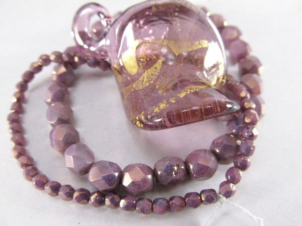 Amethyst Gold Luster 11/0 Glass Toho Seed Beads (10 grams)-Jewelry Beads-Odyssey Cache