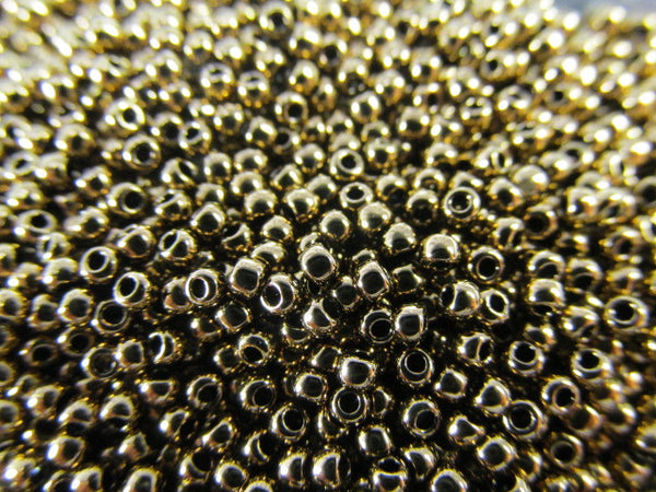 Bronze Metallic Finish 11.0 Toho Seed Beads (10 grams)-Jewelry Beads-Odyssey Cache