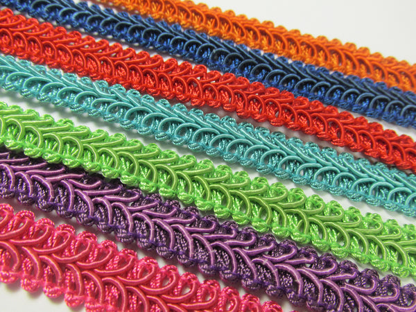 1/2 Inch Heavy Upholstery Quality Raised Gimp Trim in 38 colors - Odyssey Cache - 7