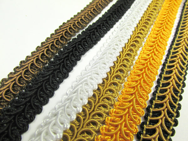 1/2 Inch Heavy Upholstery Quality Raised Gimp Trim in 38 colors - Odyssey Cache - 4