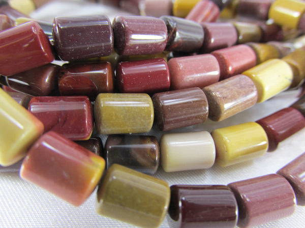 Mookalite Smooth Gemstone 8mm x 6mm Barrel Shaped Jewelry Beads - Odyssey Cache