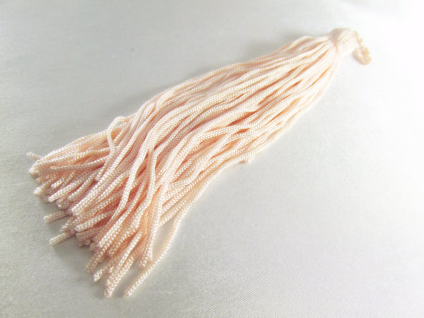 Pale Pink 5.75 Inch Chainette Tassel-Trims-Odyssey Cache