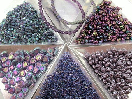Seed Beads and 2 Hole Jewelry Beads