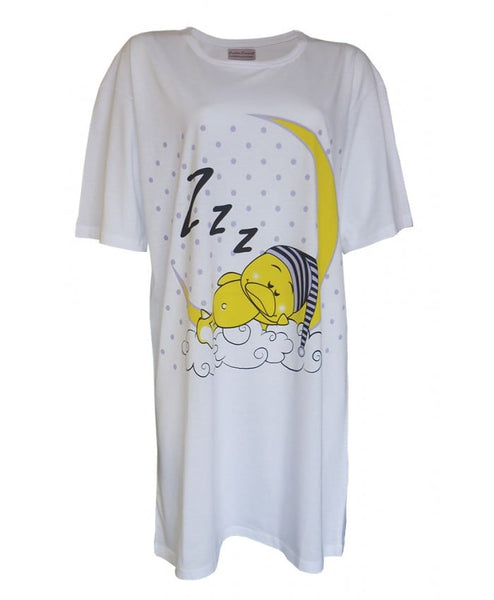 Ladies Baggy PLUS SIZE Nightshirt (Fits upto UK Size 18)