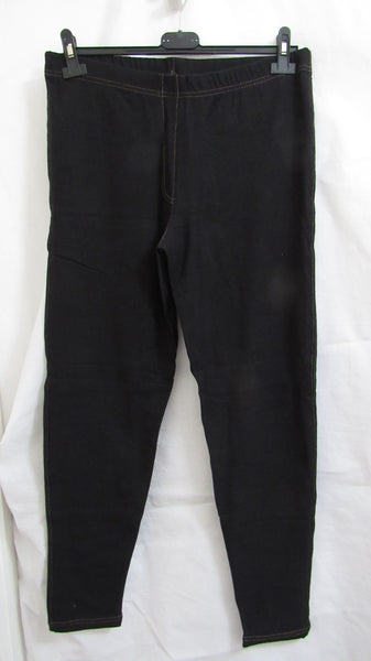 NEW Ladies Black Stretchy Jeggings Leggings Size 14, 16, 18, 20, 22-24, 26-28