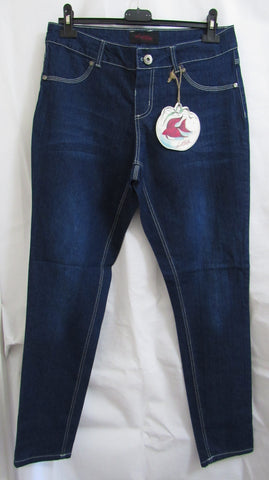 NEW Ladies DARK DENIM BLUE Bootcut Jeans SIZED ITEM SIZE 6, 10, 12, 14 and 16