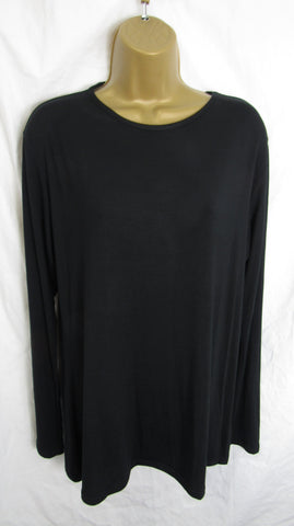 Ladies Black Tunic Top Sized 16-18, 20-22 and 24-26