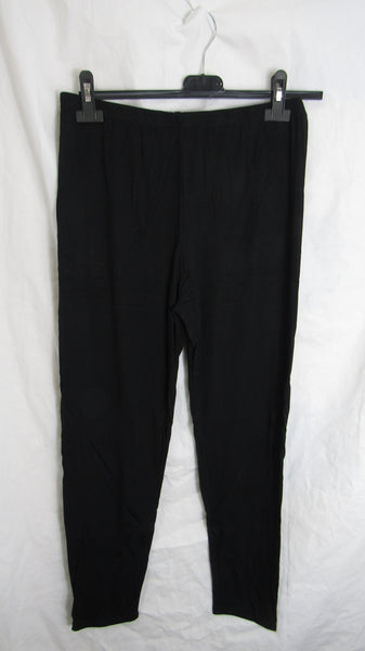 NEW Ladies Black Stretchy Full Length Leggings Size 16-18, 20-22, 24-26