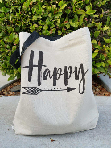Happy tote bag - Jane Avenue