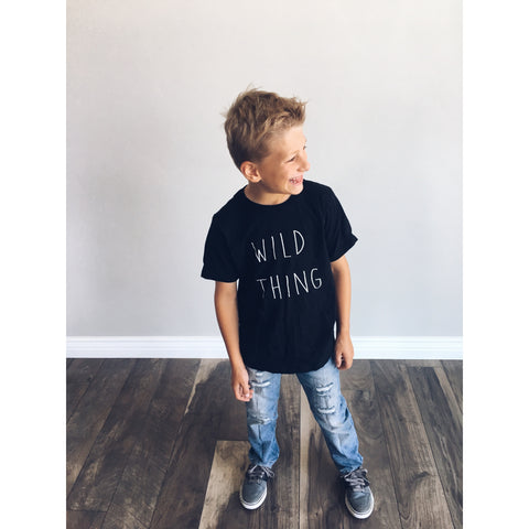 Kids Wild Thing tee - Jane Avenue