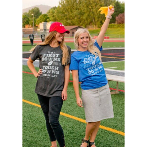 First downs and touchdowns tees - Jane Avenue