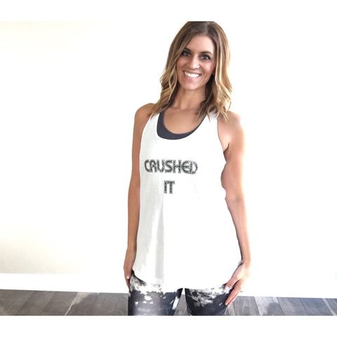 Crushed It tank
