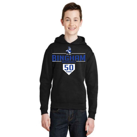 Youth Bingham Baseball  hoodie - Jane Avenue