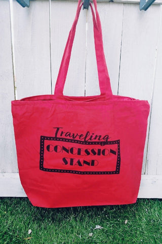 Large Traveling Concession Tote