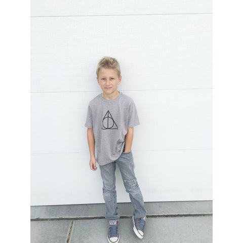 Boys Deathly Hallows tee - Jane Avenue