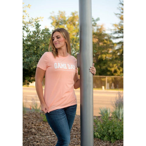 Gameday crew neck tee