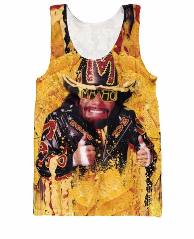 Nacho Man Randy Savage Tank Top