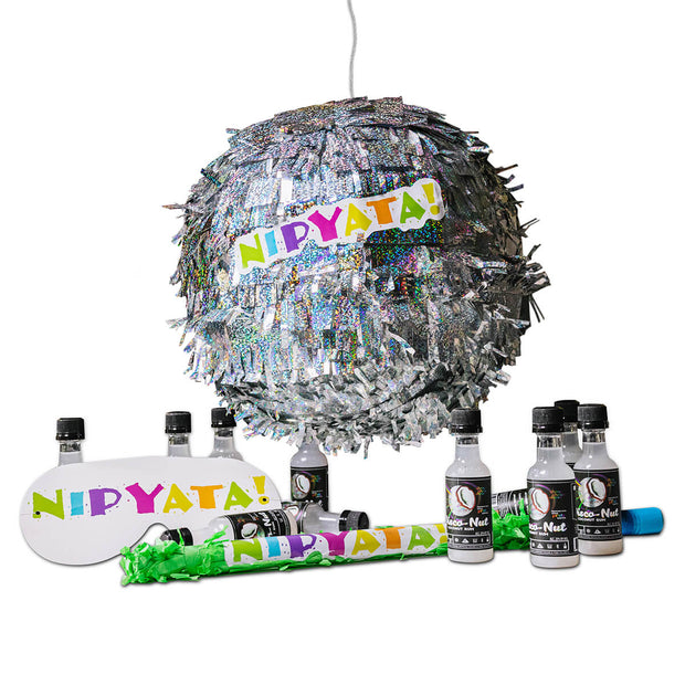 The Disco Ball Rum NIPYATA! (15 Bottles of Coconut Rum Pre-loaded)