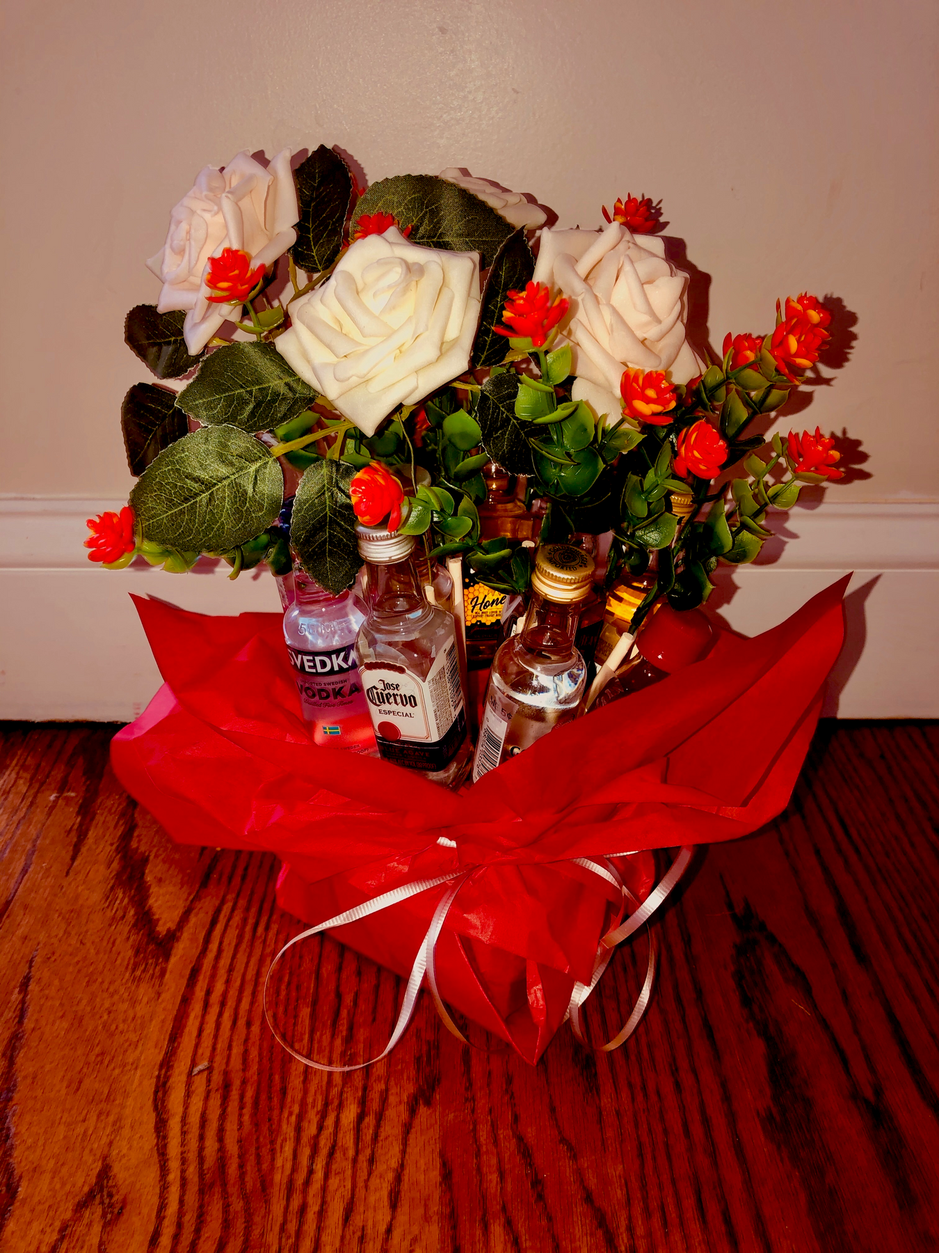 The Booze Bouquet 12 Bottles Pre Order For Mother S Day 2020