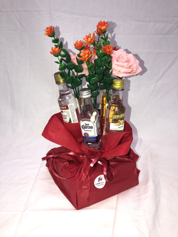 The Booze Bouquet® (6 Bottles) (Pre-order for Mother's Day 2020)