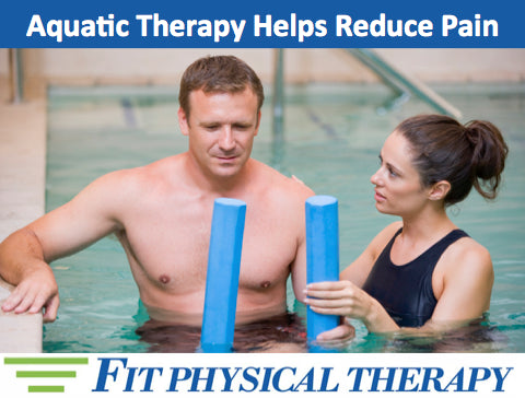 Aquatic Therapy Helps Reduce Pain
