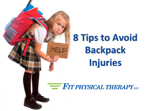 8 Tips to Avoid Backpack Injuries