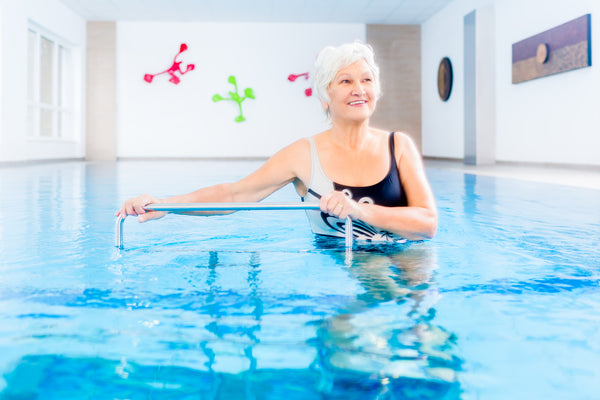Alternative Pain Reduction Includes Aquatic Therapy
